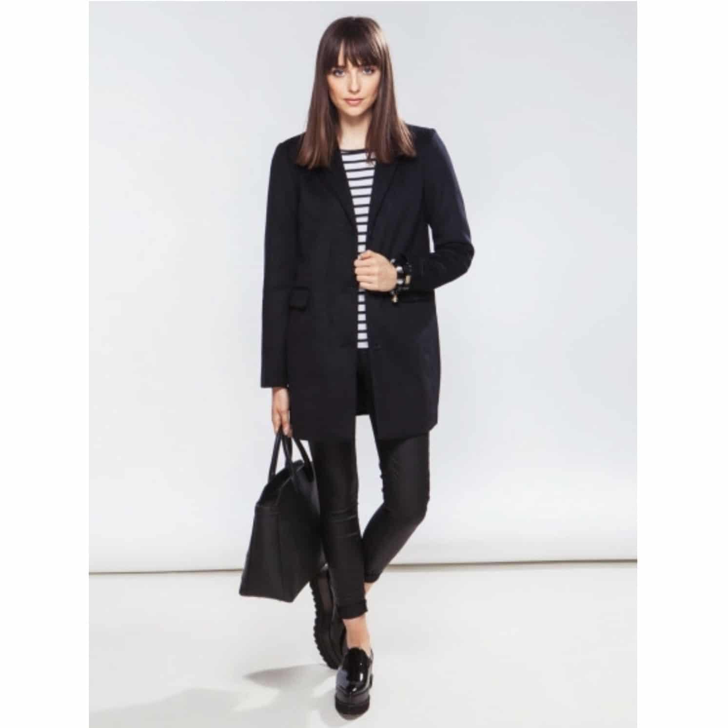 *Palton dama Vero Moda negru